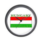 Hungary Hungarian Flag Wall Clock