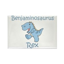 Benjaminosaurus Rex Rectangle Magnet