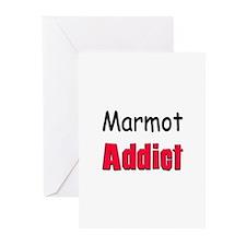 Marmot Addict Greeting Cards (Pk of 10)