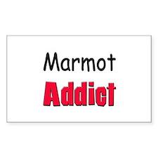 Marmot Addict Rectangle Decal