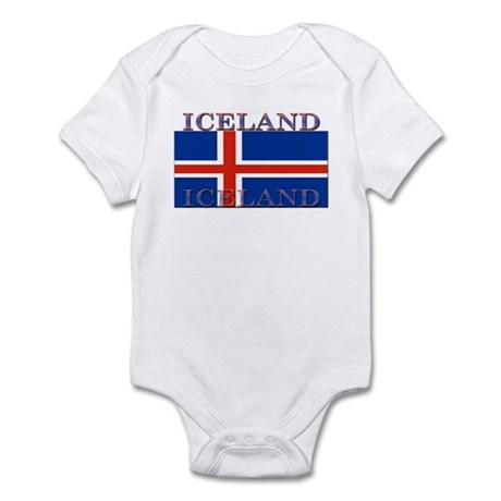 Iceland Infant Creeper