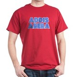 Retro Addis Abeba (Blue) T-Shirt