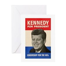 JFK '60 Greeting Card