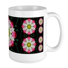 White Flower Large Mug