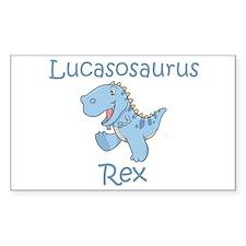 Lucasosaurus Rex Rectangle Decal