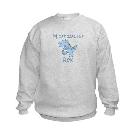 Micahosaurus Rex Kids Sweatshirt