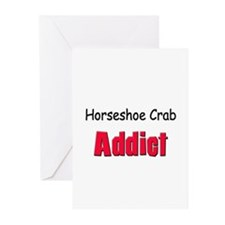 Horseshoe Crab Addict Greeting Cards (Pk of 10)