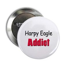 "Harpy Eagle Addict 2.25"" Button (10 pack)"