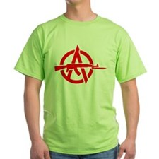 AK-47 Anarchy Symbol T-Shirt