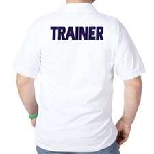"""Emergency Sensual Services """"TRAINER"""" T-Shirt"""