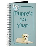 Yellow Lab Puppy's 1st Year Journal