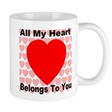 Everlasting Love Heart Mug