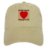 Everlasting Love Heart Baseball Cap