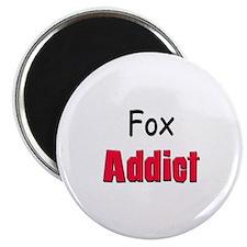 """Fox Addict 2.25"""" Magnet (10 pack)"""