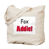 Fox Addict Tote Bag