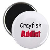 Crayfish Addict Magnet