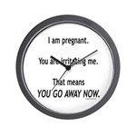 You go away now Wall Clock