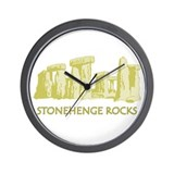 Stonehenge Rocks GD Wall Clock