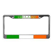 Ireland Irish Flag License Plate Frame