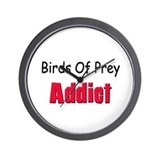 Birds Of Prey Addict Wall Clock