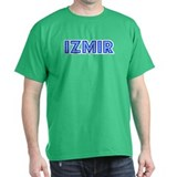 Retro Izmir (Blue) T-Shirt