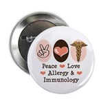 Peace Love Allergy Immunology Doctor 2.25