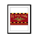 Fig Street Studio Sign Framed Panel Print