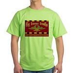 Fig Street Studio Sign Green T-Shirt