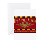 Fig Street Studio Sign Greeting Cards (Pk of 20)