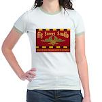 Fig Street Studio Sign Jr. Ringer T-Shirt