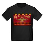 Fig Street Studio Sign Kids Dark T-Shirt