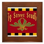 Fig Street Studio Sign Framed Tile