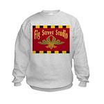 Fig Street Studio Sign Kids Sweatshirt