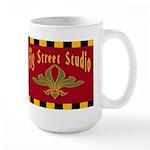 Fig Street Studio Sign Large Mug