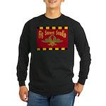 Fig Street Studio Sign Long Sleeve Dark T-Shirt