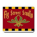 Fig Street Studio Sign Mousepad