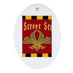 Fig Street Studio Sign Oval Ornament