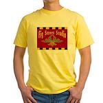 Fig Street Studio Sign Yellow T-Shirt