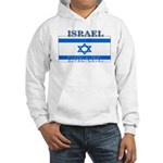 Israel Israeli Flag Hooded Sweatshirt