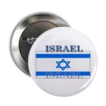 Israel Israeli Flag Button