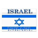 Israel Israeli Flag Postcards (Package of 8)