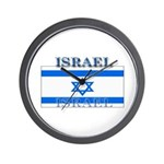 Israel Israeli Flag Wall Clock