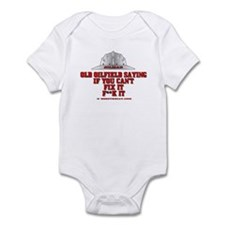Oilfield Saying, If You Can't Infant Bodysuit
