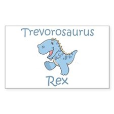 Trevorosaurus Rex Rectangle Decal