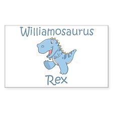 Williamosaurus Rex Rectangle Decal