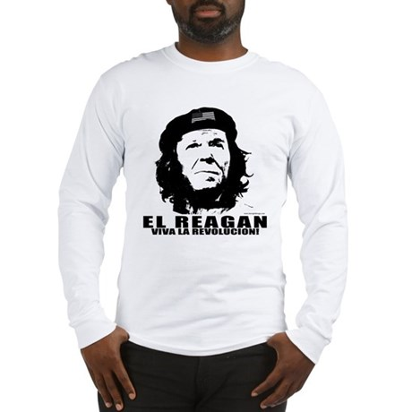 El Reagan Viva Revolucion Long Sleeve T-Shirt