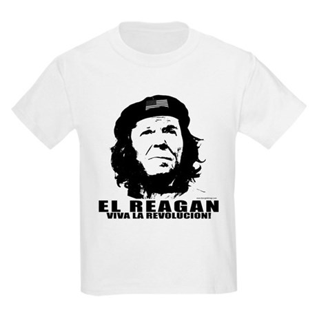 El Reagan Viva Revolucion Kids Light T-Shirt