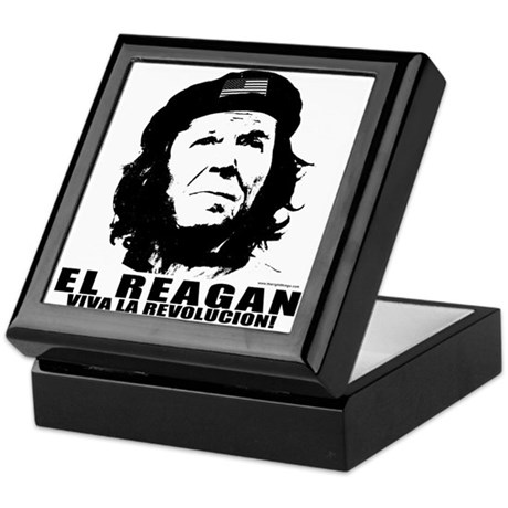 El Reagan Viva Revolucion Keepsake Box