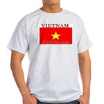 Vietnam Vietnamese Flag Ash Grey T-Shirt