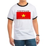 Vietnam Vietnamese Flag Ringer T